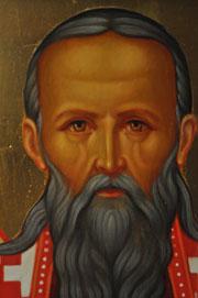 Икона Иоанна Кронштадтского.  Лик.